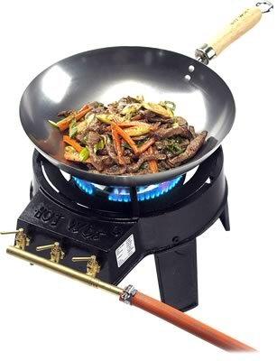 El wok de hierro - Cocinar con wok en vitroceramica ...