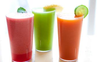 Las bebidas: diversas opciones