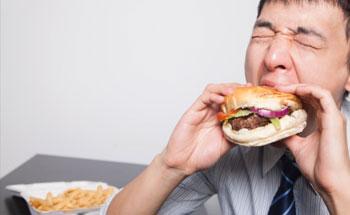 Si come rápido, al menos coma bien