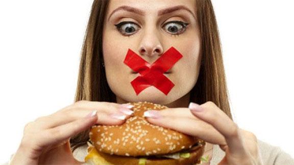 Señales que estas comiendo mal