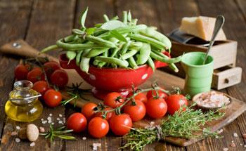 La importancia del consumo de vegetales