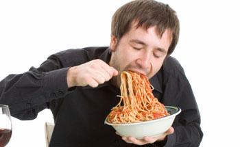 La compulsión en el acto de comer