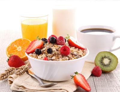 Seleccione bien su desayuno