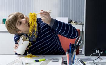 El estrés produce barriga