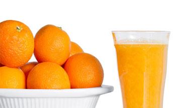 Jugo de naranjas congelado, ¿más vitamínico?