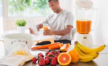 A dieta con jugos o zumos