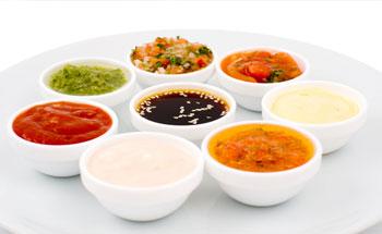 Salsas de bajas calorías