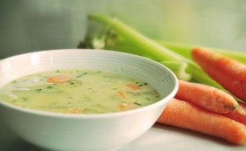 Cada sopa, sus nutrientes